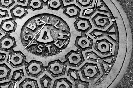 Bell System Manhole Cover