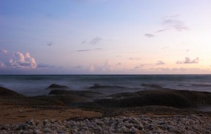 Long Exposure of Waves