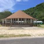 "Traditional Samoan home or ""fale."""
