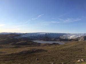 Russell glacier.