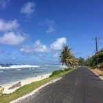 "The ""Main Road"" in American Samoa."
