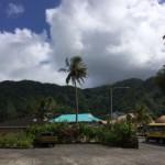 Snapshot of Utulei village near my hotel.